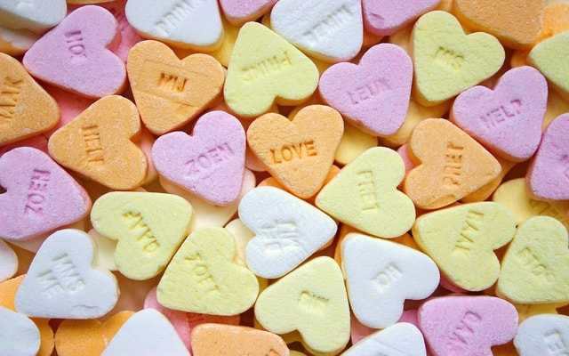 candy hearts employees love online learning
