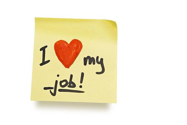 Love My Job post it