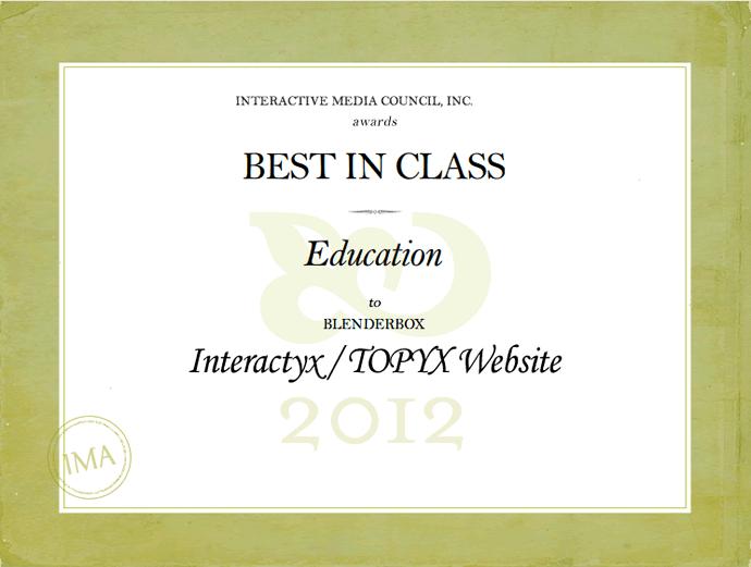 <img alt=&quot;Website Award Education Interactive media council inc 2012 TOPYX Interactyx&quot;src=https://topyx.com/wp-content/uploads/2012/06/Website-ED-Award_low.png&quot;/>