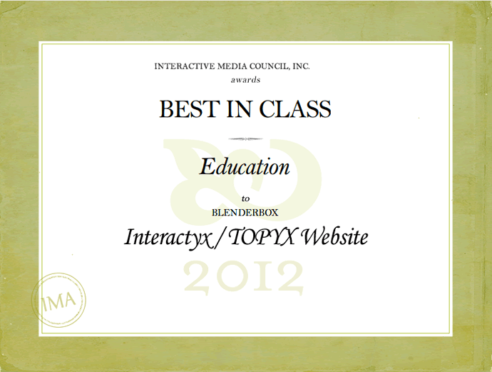 "<img alt=""Website Award Education Interactive media council inc 2012 TOPYX Interactyx""src=https://topyx.com/wp-content/uploads/2012/06/Website-ED-Award_low.png""/>"