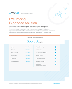 TOPYX LMS Pricing