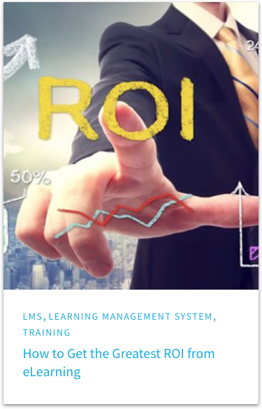 ROI from eLearning Blog