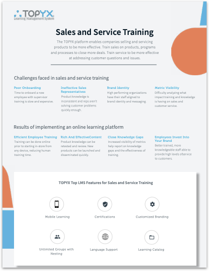Sales & Service Training
