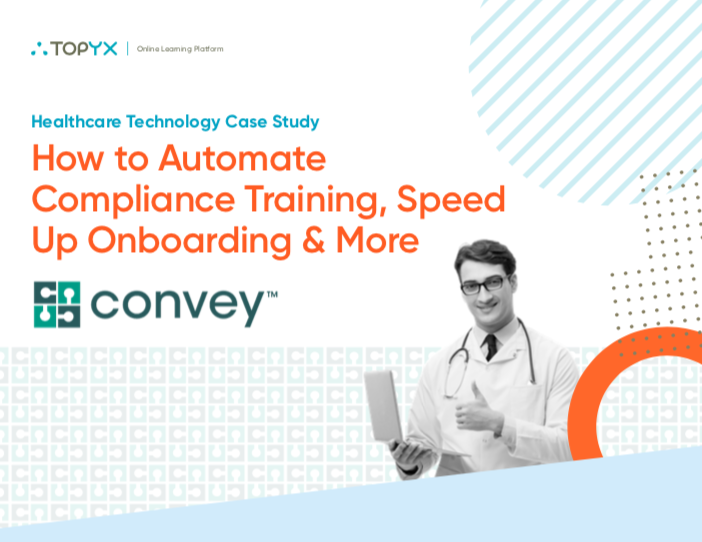 TOPYX Convey Healthcare Case Study Cover